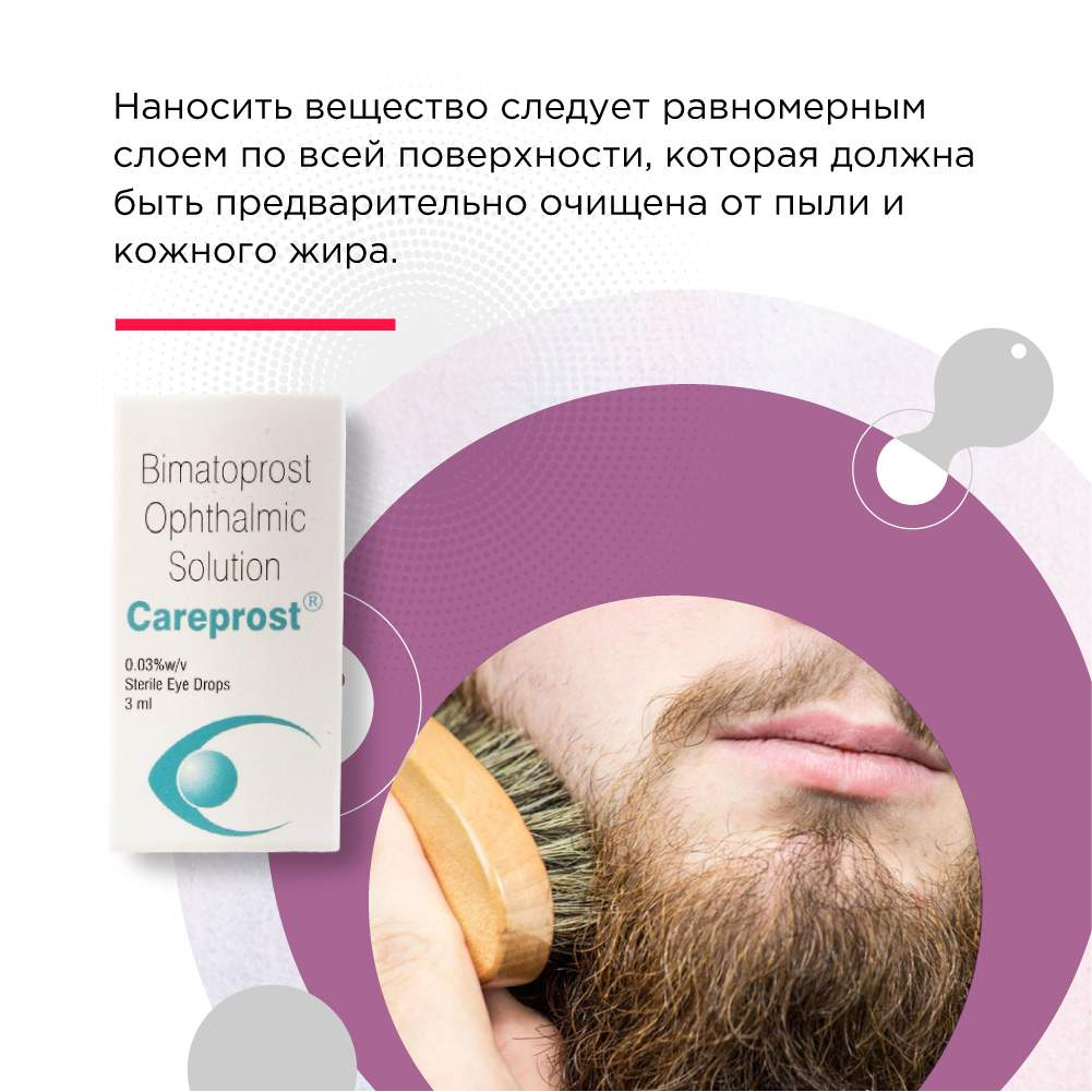 карепрост для роста бороды